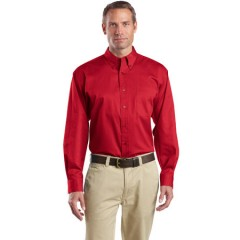 CornerStone Long Sleeve SuperPro Twill Shirt for Men
