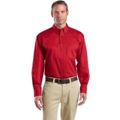 CornerStone Long Sleeve SuperPro Twill Shirt for Men