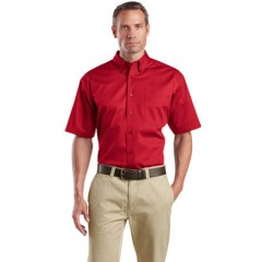 CornerStone Short Sleeve SuperPro Twill Shirt for Men