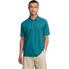 Sport-Tek Contrast Stitch Micropique Sport-Wick Polo for Men