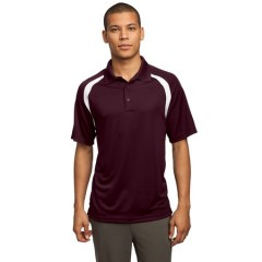 Sport-Tek Dry Zone Colorblock Raglan Polo for Men