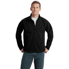 Port Authority Tall Textured Soft Shell Jacket for Men