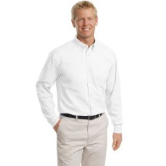 Port Authority Tall Long Sleeve Easy Care Shirt for Men