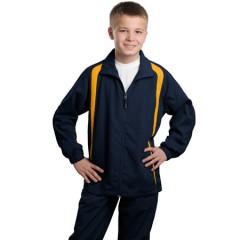 Sport-Tek Colorblock Raglan Jacket for Youth