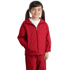 Sport-Tek Hooded Raglan Jacket for Youth