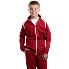 Sport-Tek Tricot Track Jacket for Youth