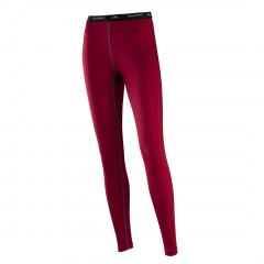 ColdprufCranberry - Premium Performance Polyester / Spandex Long Underwear Pant for Women