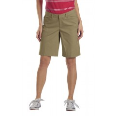 "Desert Sand - Dickies Women's 10"" Relaxed Cotton Cargo Short"