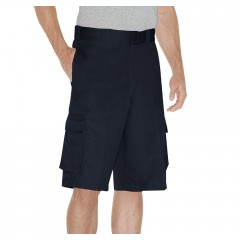 "Dark Navy - Dickies Men's 13"" Loose fit Cargo Work Short"