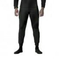Black - Heavy Weight Fleece Polypropylene Thermal Underwear Pant for Adult