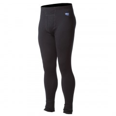 100% Pure Merino Wool Medium-Weight Long Underwear Bottom for Men