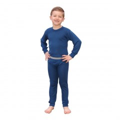 Indera Mills Antimicrobial Unisex Youth Performance Thermal Underwear Set for Youth