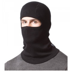100% Pure Merino Wool Expedition-Weight Balaclava for Adults