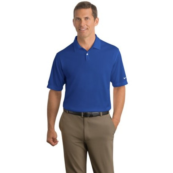 Nike Golf Dri Fit Pebble Texture Polo For Men