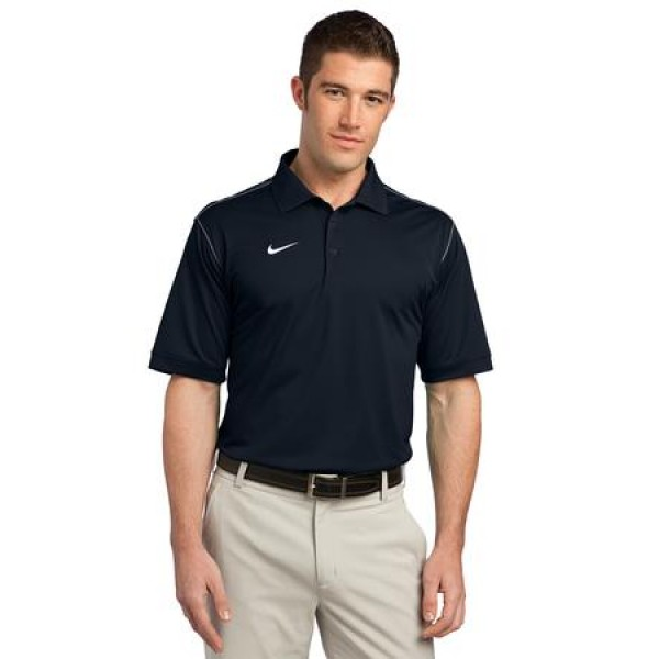 611186188 Nike Golf Dri-FIT Sport Swoosh Pique Polo for Men