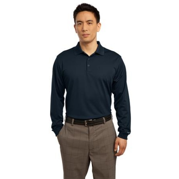 65488421 Nike Golf Long Sleeve Dri-FIT Stretch Tech Polo for Men