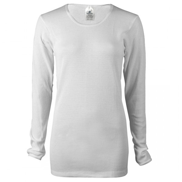 Indera Mills Women's 100% Cotton Long Thermal Underwear Top for Women