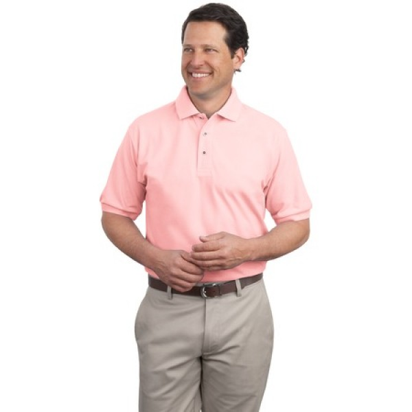 c58a9db7ba06 Port Authority Extended Size Silk Touch Polo for Men