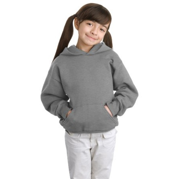 61ec11acb7f Hanes Comfortblend EcoSmart Pullover Hooded Sweatshirt for Youth