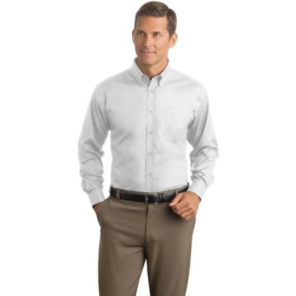 Red House Herringbone Non-Iron Button-Down Shirt for Men
